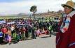 Presidente Evo Morales entrega cancha