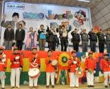Presidente Evo Morales en inauguración del bono Juancito Pinto