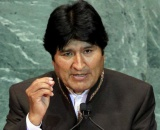 Presidente Evo Morales en la ONU