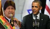 Presidentes Evo Morales y Barack Obama