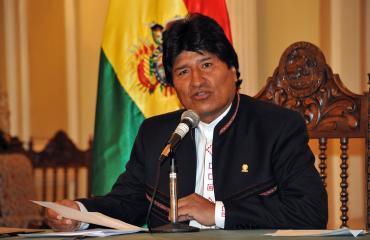 Presidente Morales rechaza agresión de EEUU a Venezuela cuyo objetivo es apropiarse del petróleo