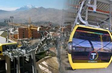 Linea Amarilla del Teleférico Metropolitano