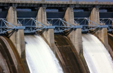 Hidroeléctrica representación