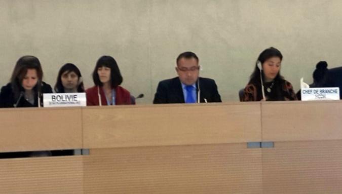 Testera en Consejo de Derechos Humanos de las Naciones Unidas (CDHNU)