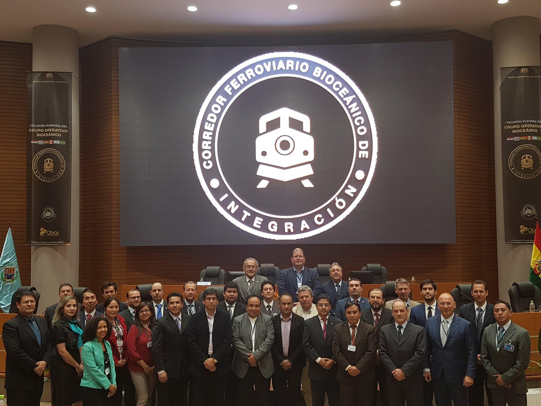 Prima riunione plenaria del Grupo Operativo Bioceánico (GOB). Credits to: Ministero della Comunicazione della Bolivia.